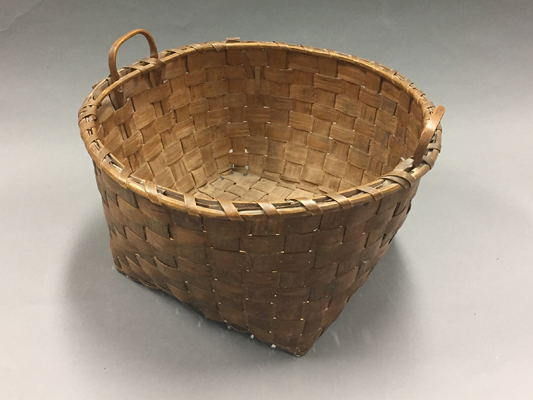 Large basket with two handles
